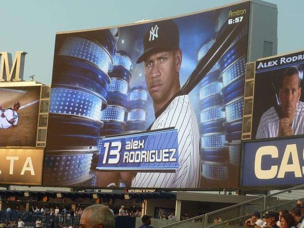 A-Rod at Yankee Stadium