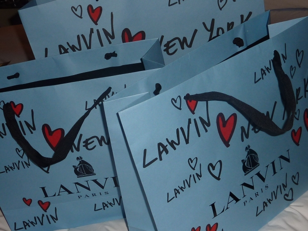 Hello Lanvin! Madison Ave, NYC