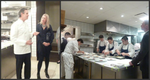 A total rock star moment! Meeting Food God Thomas Keller and taking a squiz behind-the-scenes at Per Se, NYC.