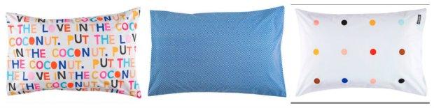 Heavenly pillow cases by Australian designer Rachel Castle