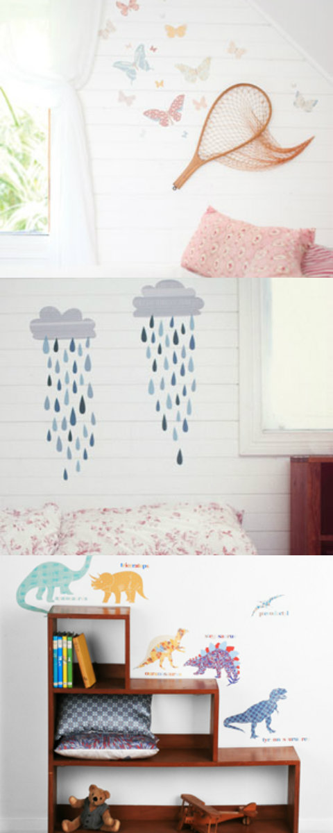 Love Mae wall stickers from Kido Store
