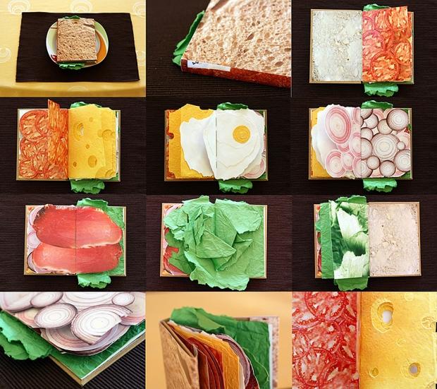 'The Sandwich Book' by Pawel Piotrowski
