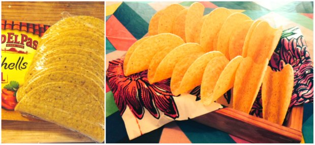 Quick cheat: Stealing Old El Paso's thunder.