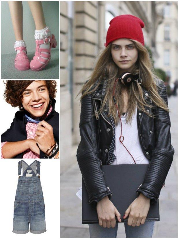 Tweens heart jellies, Harry, overalls and Cara.